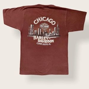 2000s Harley Davidson Chicago Fleece Tee